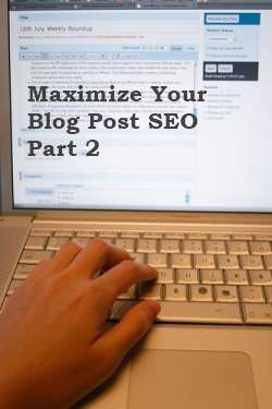 Blogging SEO Tips 2